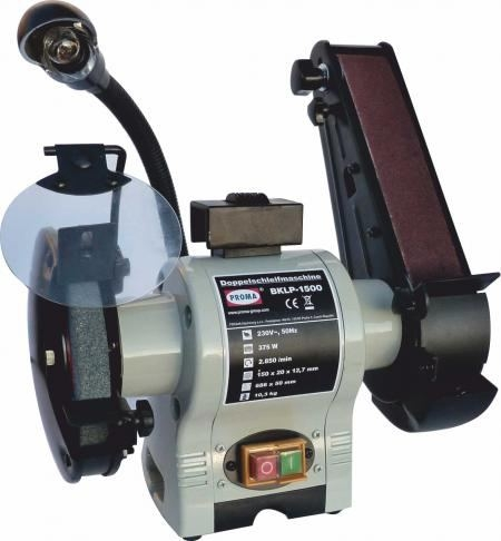 Polizor combinat cu piatra si banda 150 mm BKLP-1500 0