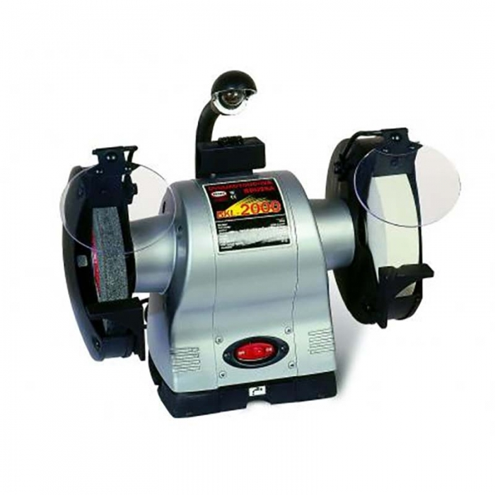 Polizor de banc cu sistem de iluminare 200 mm BKL-2000 0