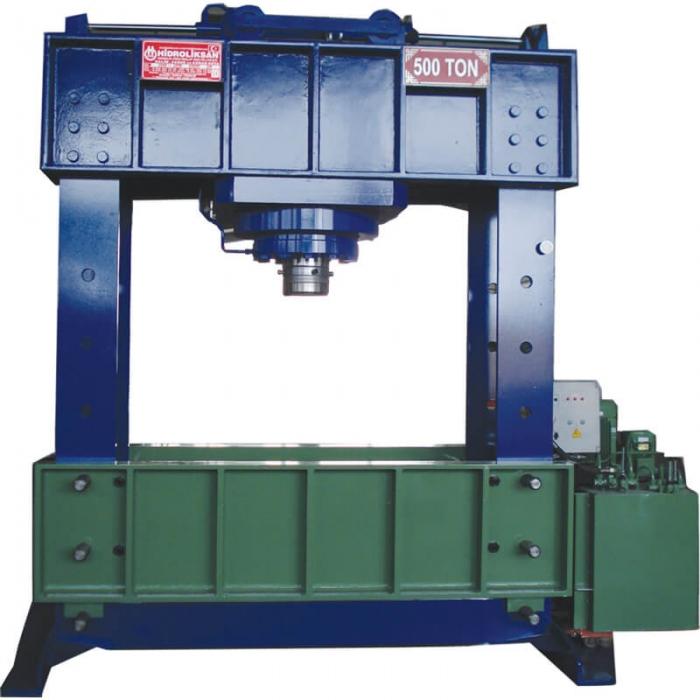 Presa hidraulica pentru atelier mecanice HD 500 0