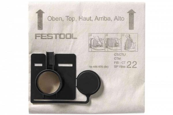 Festool Sac de filtrare FIS-CT 33 SP VLIES/5 0