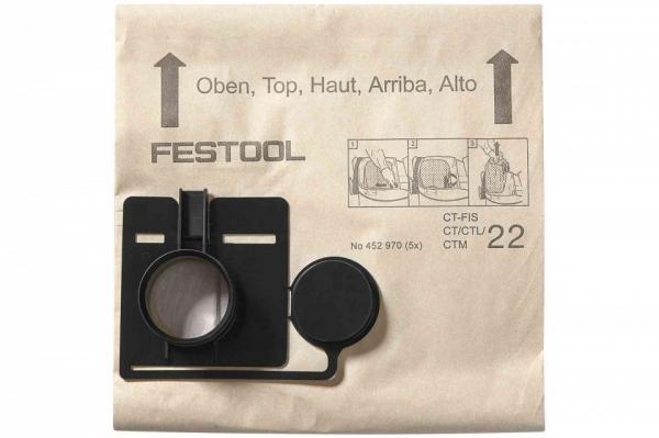 Festool Sac de filtrare FIS-CT 22/20 0