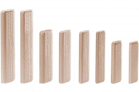 Festool Cepuri din lemn de fag DOMINO D 8x100/150 BU2