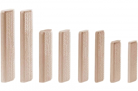 Festool Cepuri din lemn de fag DOMINO D 8x100/150 BU4