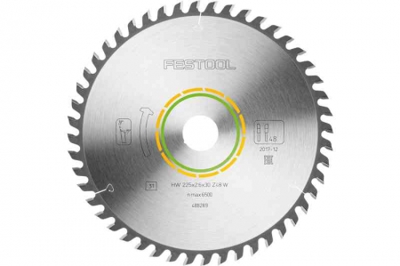 Festool Panza de ferastrau circular cu dinti fini 225x2,6x30 W481