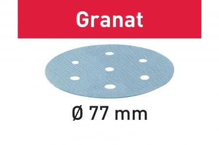 Festool Foaie abraziva STF D 77/6 P800 GR/50 Granat3