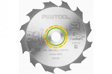 Festool Panza de ferastrau Panther 160x1,8x20 PW12 [2]