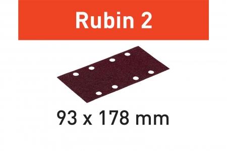 Festool Foaie abraziva STF 93X178/8 P120 RU2/50 Rubin 24