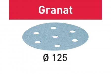 Festool Foaie abraziva STF D125/8 P60 GR/10 Granat1