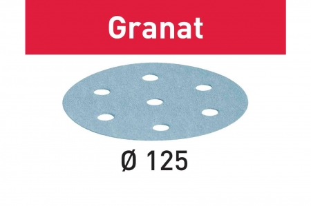 Festool Foaie abraziva STF D125/8 P180 GR/100 Granat [1]