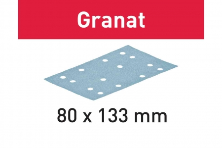 Festool Foaie abraziva STF 80x133 P80 GR/50 Granat2