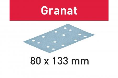 Festool Foaie abraziva STF 80x133 P80 GR/50 Granat1