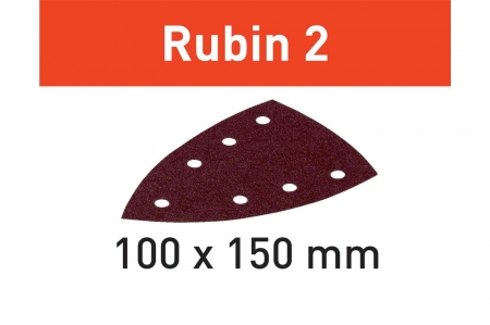 Festool disc de slefuire STF DELTA/7 P60 RU2/10 Rubin 2 [1]