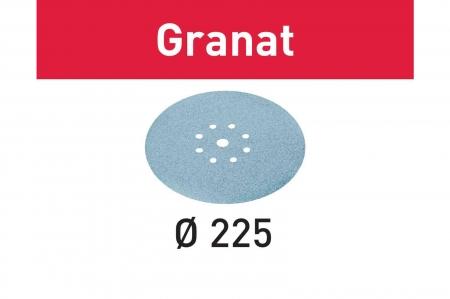 Festool Foaie abraziva STF D225/8 P180 GR/25 Granat [2]