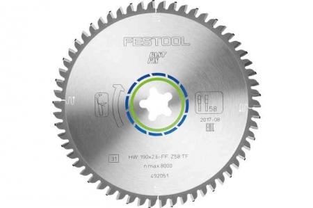 Festool Panza speciala de ferastrau 190x2,6 FF TF58 [1]