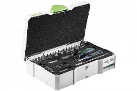 """Festool Set de dispozitive cu clichet 1/4""""-CE RA-Set 361"""