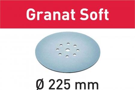 Festool Foaie abraziva STF D225 P100 GR S/25 Granat Soft0