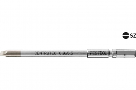 Festool Bit SZ SZ 0,8x5,5-100 CE/20