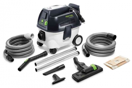 Festool Aspirator mobil CT 17 E-Set BU CLEANTEC1