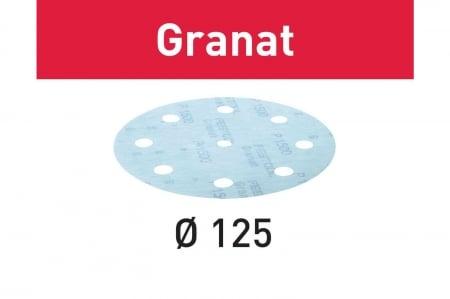 Festool Foaie abraziva STF D125/8 P1500 GR/50 Granat [4]