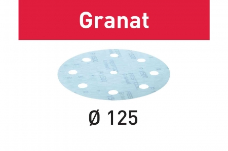 Festool Foaie abraziva STF D125/8 P1200 GR/50 Granat [0]