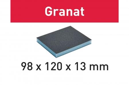 Festool Burete de şlefuit 98x120x13 220 GR/6 Granat0