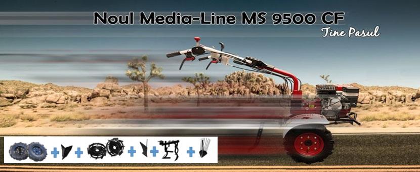 Motocultoare Media Line MS 9500