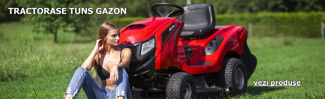 Tractorase tuns gazon