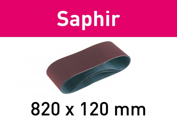 Festool Banda abraziva 820x120-P100-SA/10 Saphir 0