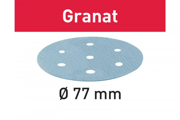 Festool Foaie abraziva STF D 77/6 P1200 GR/50 Granat 0