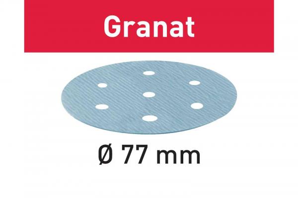 Festool Foaie abraziva STF D77/6 P180 GR/50 Granat [0]