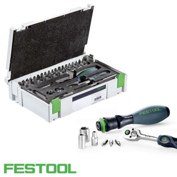 """Festool Set de dispozitive cu clichet 1/4""""-CE RA-Set 36 1"""