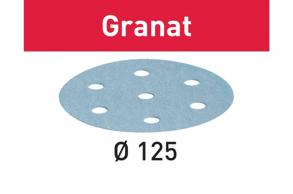 Festool Foaie abraziva STF D125/8 P100 GR/100 Granat [0]
