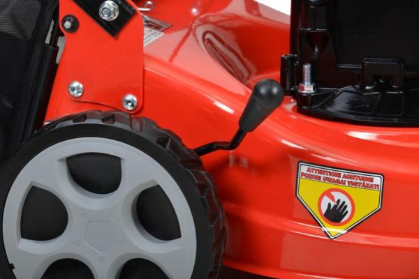 Hecht 541 BSW Masina de tuns iarba, motor benzina, autopropulsata, 2.3 CP, latime de lucru 41 cm 7