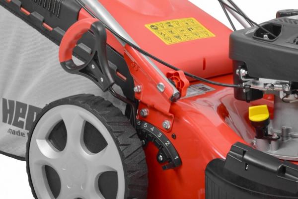 Hecht 5433 SW Masina de tuns iarba, motor benzina, autopropulsata, 2.5 CP, latime de lucru 43 cm