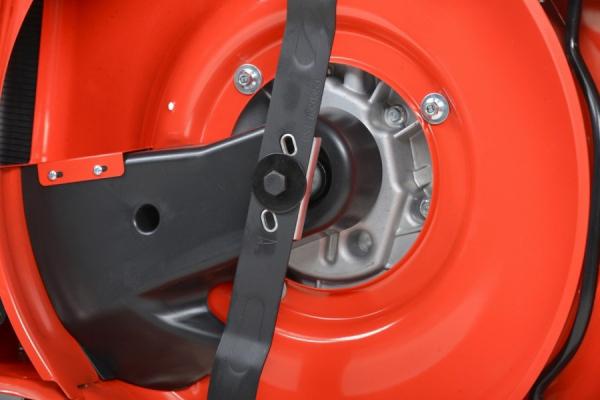 HECHT 547 SXW 5 in 1 Masina de tuns iarba, motor benzina, autopropulsata, 4.5 CP, latime de lucru 46 cm 4