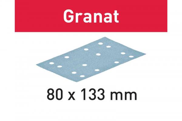 Festool Foaie abraziva STF 80x133 P80 GR/50 Granat