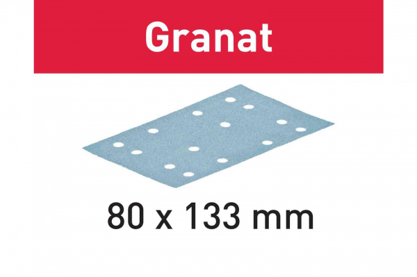 Festool Foaie abraziva STF 80x133 P120 GR/100 Granat [0]