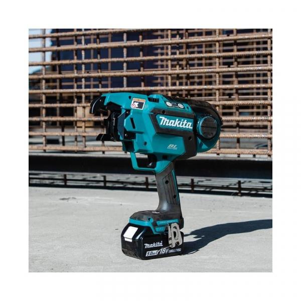 Masina de legat fier beton MAKITA DTR180ZK KIT LXT MAKPAK 18 v 5Ah 1