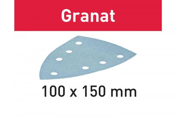 Festool disc de slefuire STF DELTA/7 P80 GR/50 Granat 0