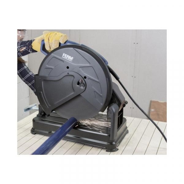 Masina pentru debitat metale cu disc abraziv disc 355 mm FERM COM1007P 2300 W 2