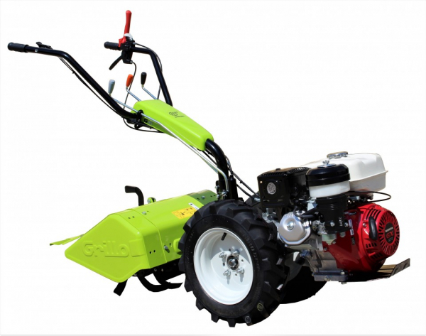 Motocultor Grillo G85 GX270 9 CP 58 CM + plug reversibil + suport plug 1