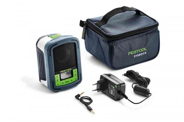 Festool Aparat radio pentru şantier BR 10 SYSROCK 1