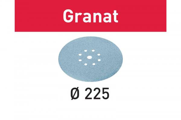 Festool Foaie abraziva STF D225/8 P220 GR/25 Granat 0