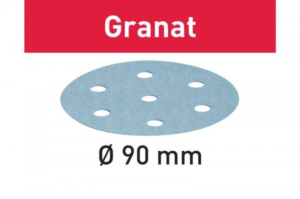 Festool Foaie abraziva STF D90/6 P80 GR/50 Granat 0