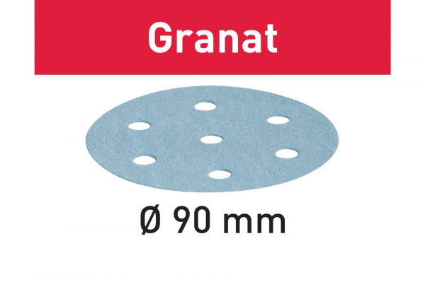 Festool Foaie abraziva STF D90/6 P240 GR/100 Granat [0]