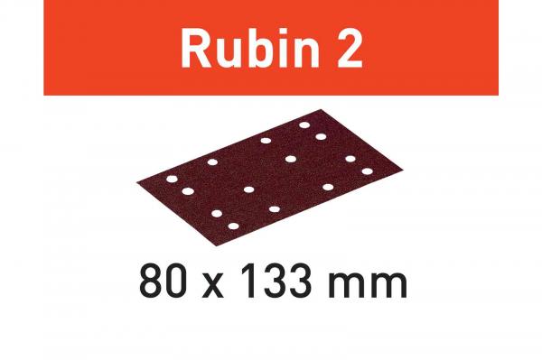 Festool Foaie abraziva STF 80X133 P80 RU2/50 Rubin 2 [0]