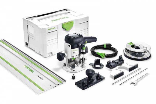 Festool Masina de frezat OF 1010 EBQ-Set + Box-OF-S 8/10x HW 1