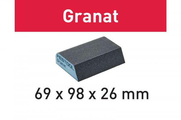 Festool Bloc de şlefuire 69x98x26 120 CO GR/6 Granat 0