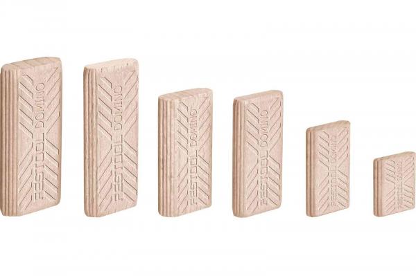 Festool Cepuri din lemn de fag DOMINO D 5x30/300 BU [0]
