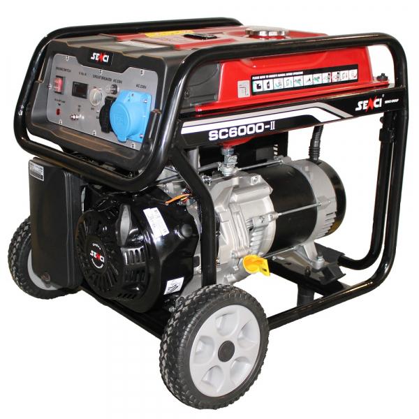 Generator de curent monofazat SENCI SC-6000 putere maxima 5.5 kW